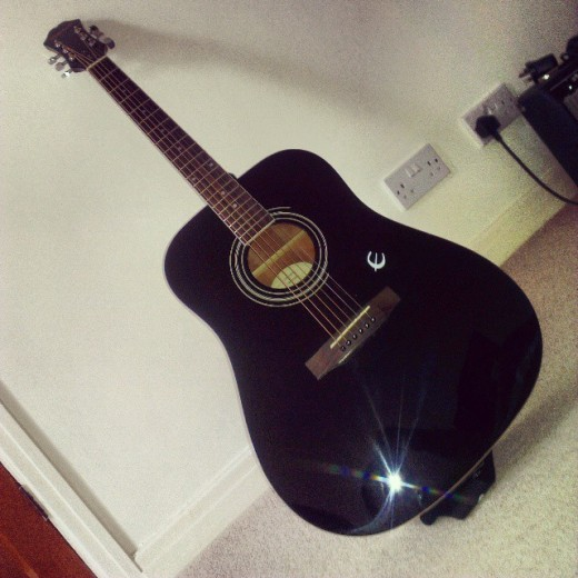 My Epiphone DR-100