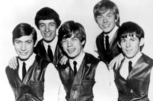 Early publicity picture of The Rolling Stones.