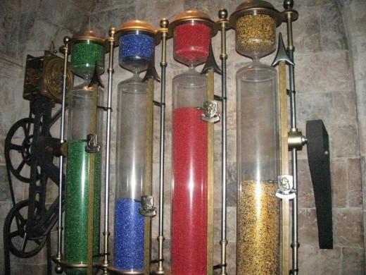 Hogwart's House Cup- Looks like Gryffindor is winning!