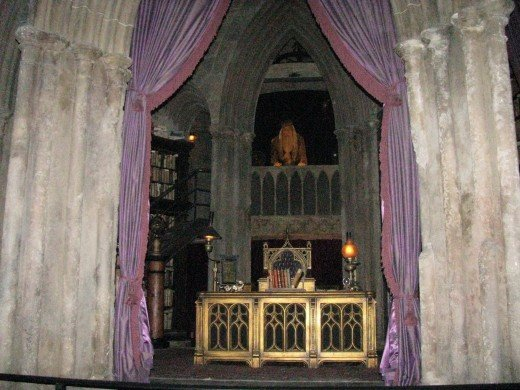 Listen to Dumbledore's instructions carefully before embarking on the Forbidden Journey