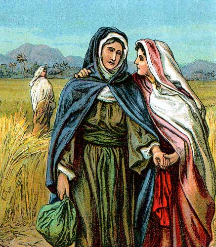 Naomi and Ruth were both widows in Israel
