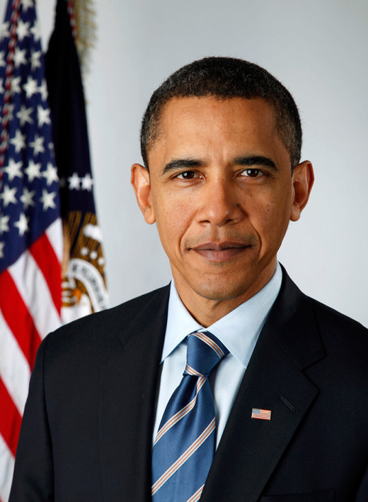 "Barack Obama, author of ""Dreams from My Father"" and President of the United States."