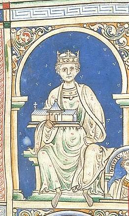 Richard's father, Henry II.