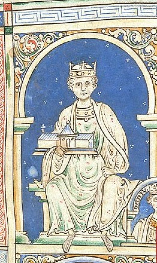 Richard's father, Henry II.