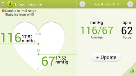 The S Health App is one of the best out there