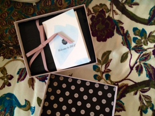 OOhh what's inside the Glossybox?