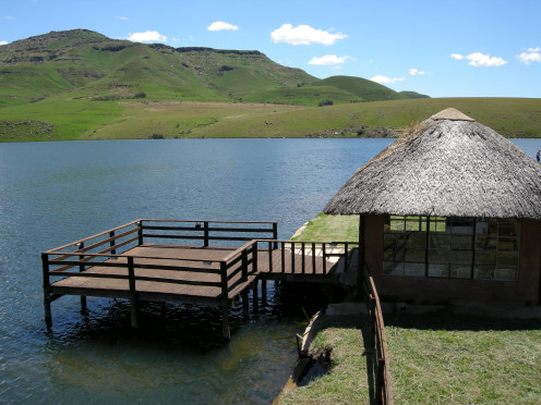 Lake St Bernard, Underberg Chalets are very private and sleeps up to 8 people.