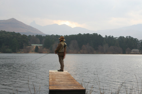 Fishing in the Drakensberg is great fun