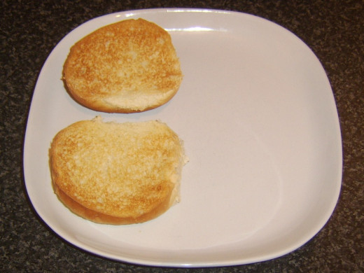 Toasted bread roll