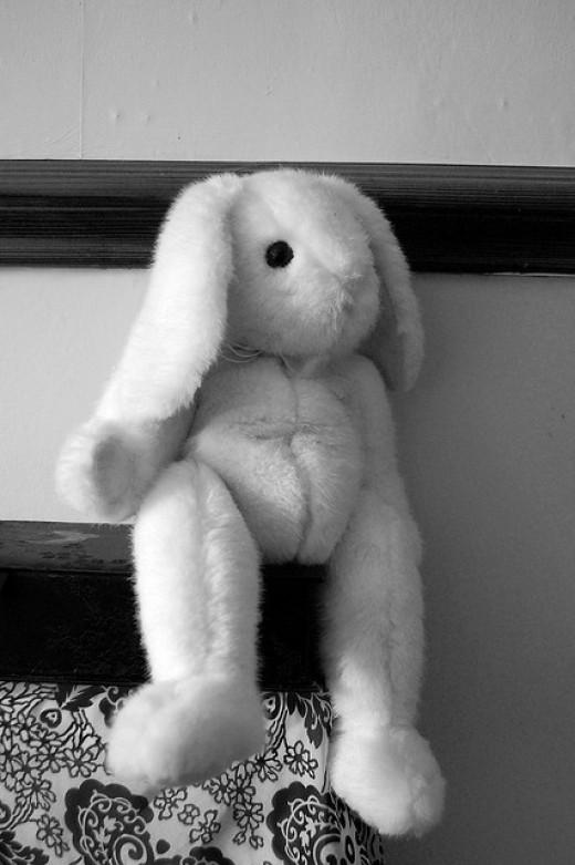 An older Ty bunny.