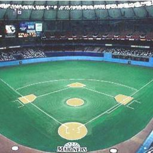 Kingdome; Home of the Seattle Mariners (1976-2000)
