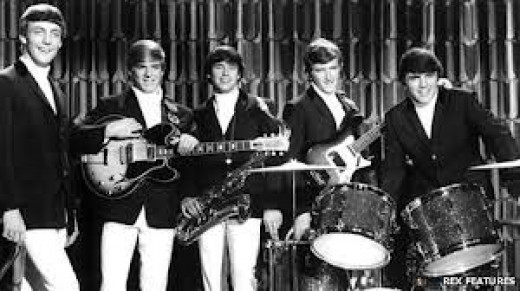 The Dave Clark 5, with Dave Clark on drums.