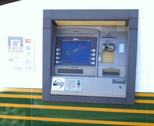 Credit Unions and Banks Both Offer ATM's and Other Services