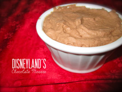 Disneyland's Chocolate Mousse