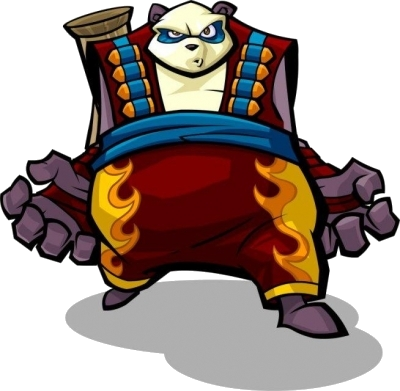 "Panda King in ""Honor Among Thieves"""