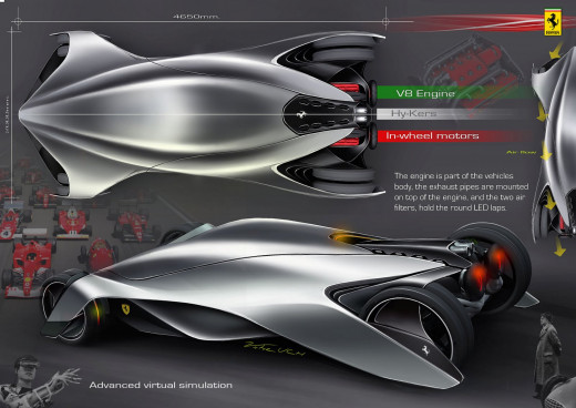 Ferrari proposal by Victor Uribe