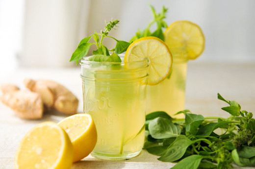 Basil Leaves and Ginger can cure fever
