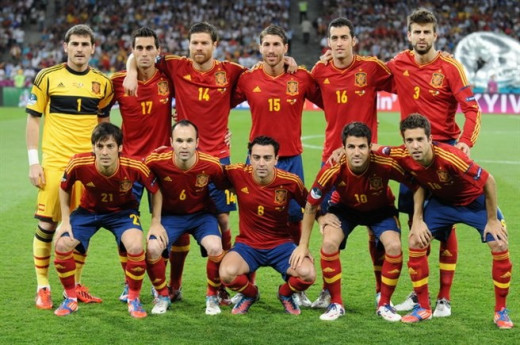 The Spanish side has grown up as a unit.