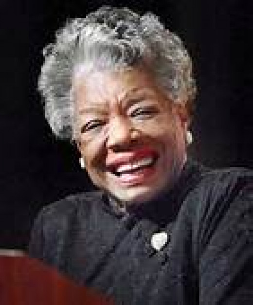 Maya Angelou, 'Phenomenal Woman'.