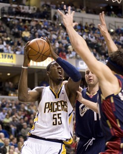 2008-09 Indiana Pacers Core Line Up