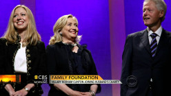 Chelsea, Hillary and President Bill Clinton