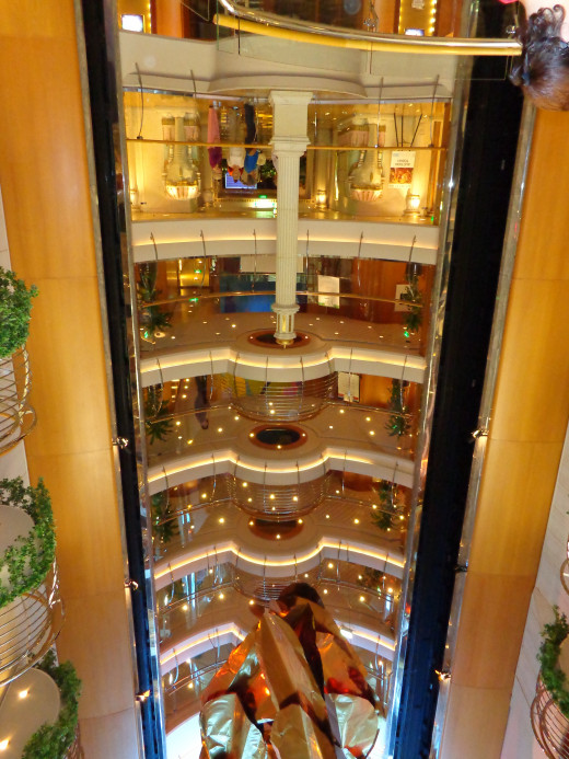 Inside the Cruise Ship