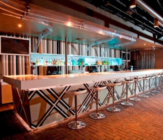 Commercial interior design . . . a bar in Houston