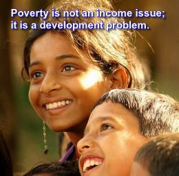 Rich Smile of Poor kids