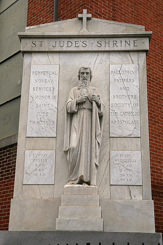 The National Shrine of Saint Jude.