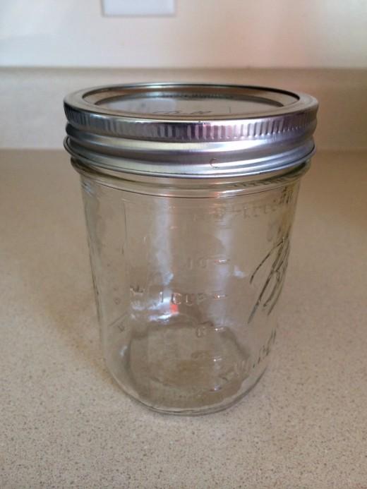 2 cup mason jar