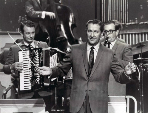 "The Lawrence Welk TV show often began with Mr. Welk counting out, ""A-one, a-two, a-one, two, three..."""