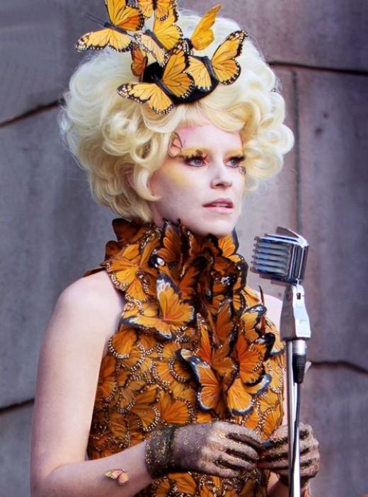 Effie Trinket in Catching Fire