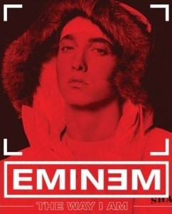 Cover for Eminem's book The Way I Am published in 2008.
