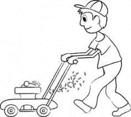 The Lawn Mower was a great invention for the home and it helped make keeping the yard up much easier.