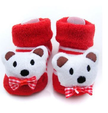 Adorable Baby Sock Slippers for Baby's Easter Basket