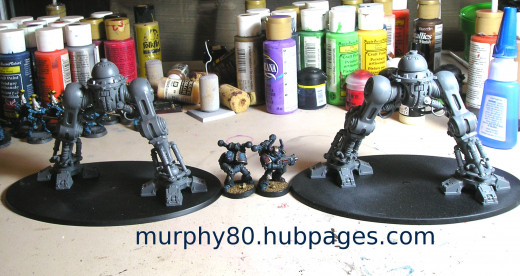 Imperial Knight инструкция по сборке - фото 3