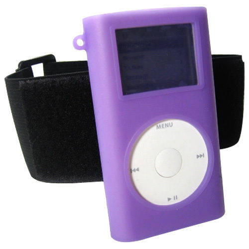 The Apple iPod mini with an armband