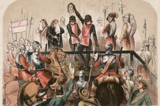The execution of King Charles 1st