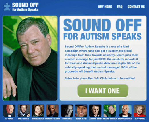 Autism charities spend huge amounts to get celebrities to endorse their charities