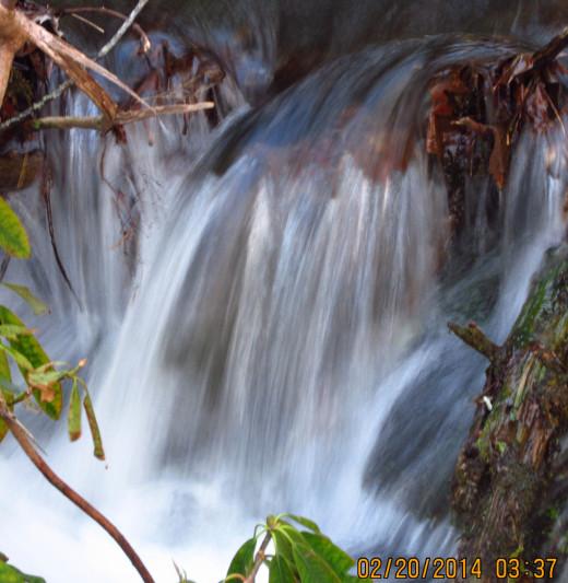 Gatlinburg has many mountain streams flowing through the region.