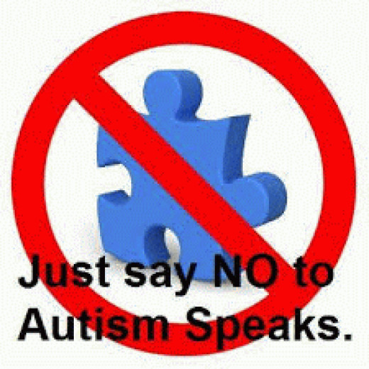 Autistic people are often shunned by Autism charities.