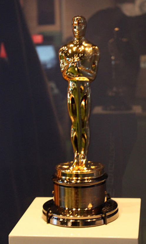 Cate Blanchett's Oscar for playing Katharine Hepburn in The Aviator in 2004