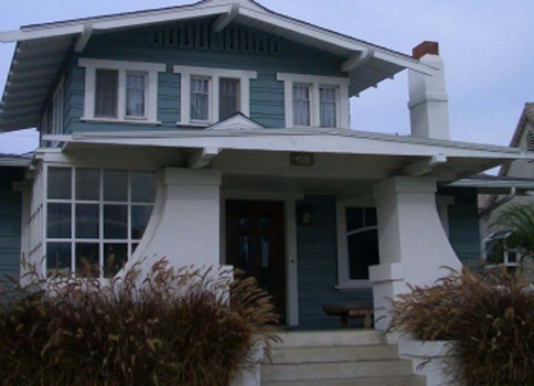Eclectic Style Craftsman Home