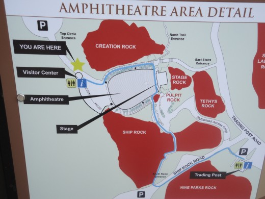 Red Rocks Amphitheatre Area Details
