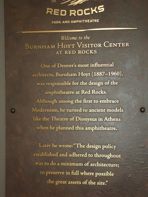 About Red Rocks Amphitheatre
