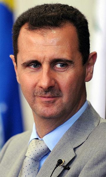 Syrian President (i.e. dictator) Bashir al-Assad