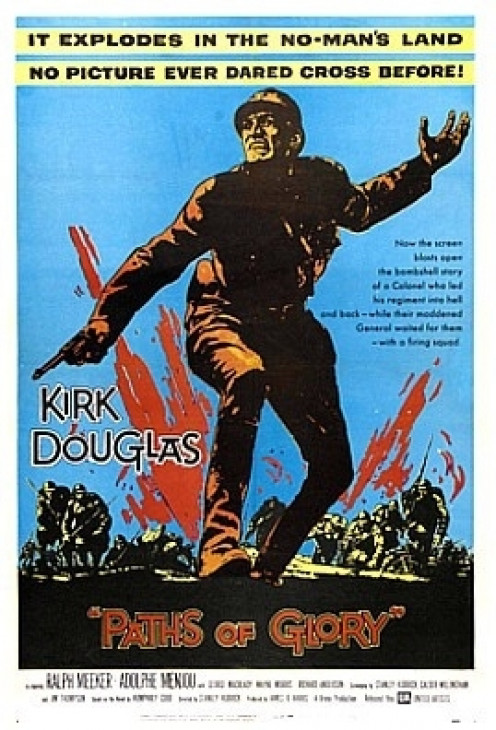 Paths of Glory (1957) - Based on the execution of four French corporals in WW1.