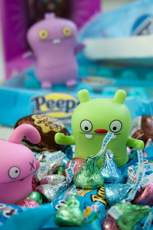 For kids, Easter is a lot like Christmas: They want the candy, but they also want some toys.