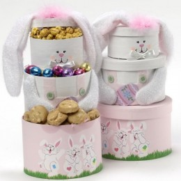 Somebunny Special Easter Gift Tower - Gourmet Food Gift Basket