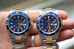 Do you find anything wrong with wearing a replica or fake watch?